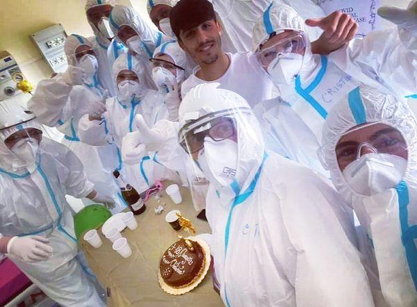 Compie 18 anni Covid Hospital di Boscotrecase: infermieri organizzano una festa a ragazzo positivo