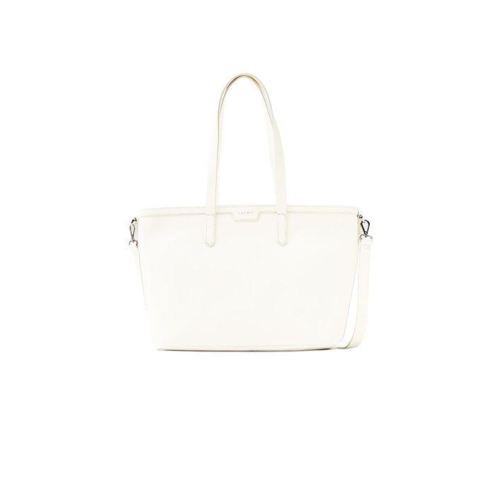Γυναικεία τσάντα classic shopper Esprit - 048EA1O047 - Εκρού
