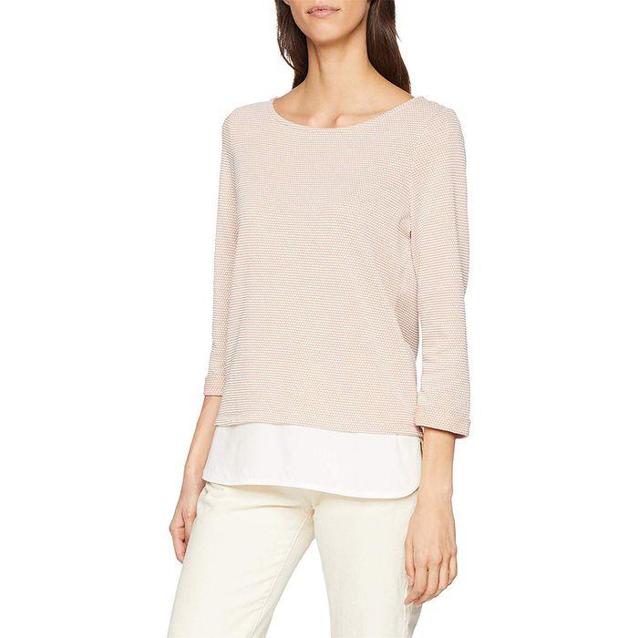 Esprit γυναικεία πλεκτή μπλούζα με μανίκια 3/4 - 999EE1K804 - Σομον