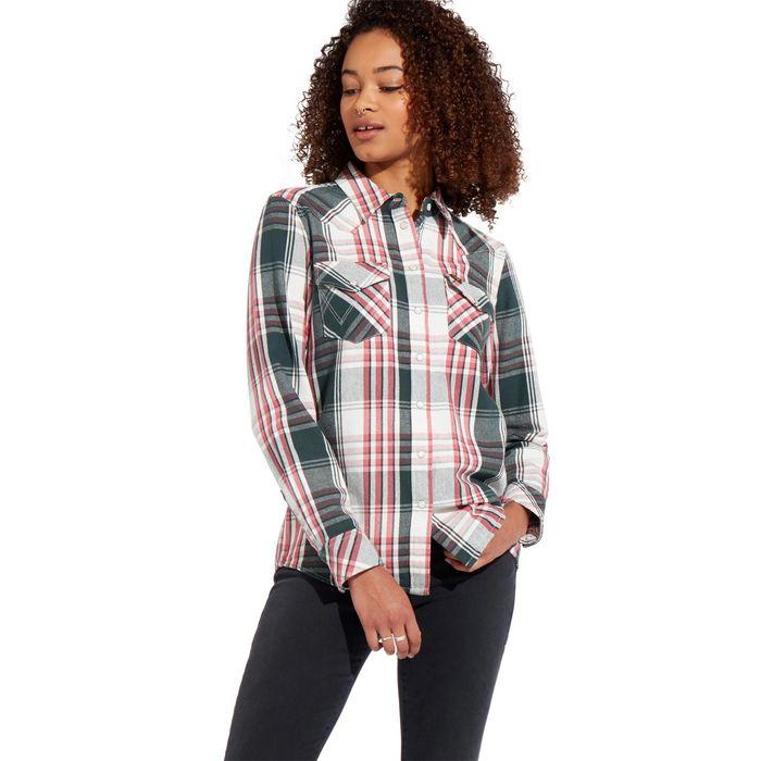 Wrangler γυναικείο καρό πουκάμισο