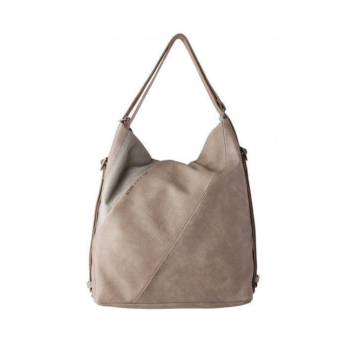 SLANG γυναικεία hobbo τσάντα που μετατρέπεται σε backpack - CD3 24 - Καφέ