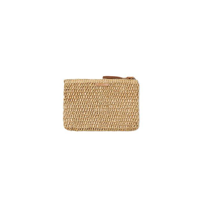 Ψάθινο πορτοφόλι Esprit - 048EA1O001 - Μπεζ
