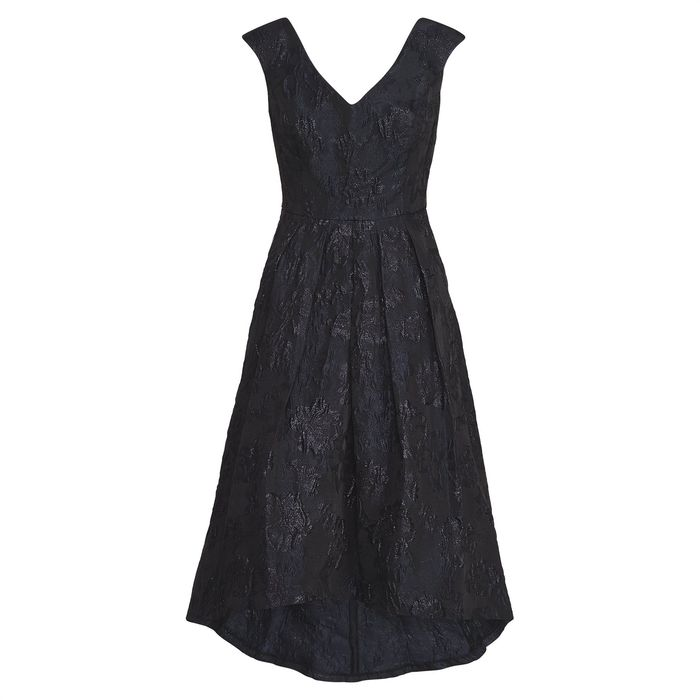 Lauren Ralph Lauren γυναικείο φόρεμα Metallic Jacquard Dress - 253716981002 - Μαύρο