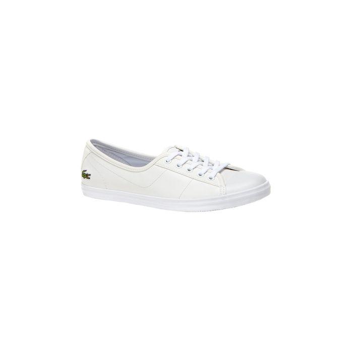 Γυναικεία παπούτσια Ziane BL 1 Lacoste - 32SPW0140001 - Λευκό