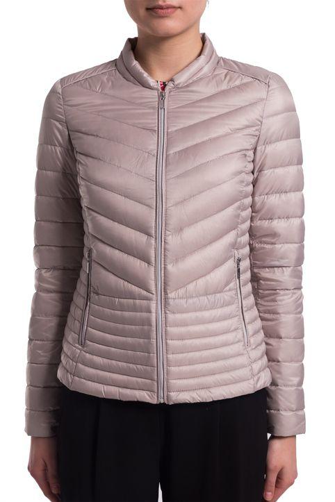Γυναικείο μπουφάν καπιτονέ με πούπουλο Esprit - 018EO1G008 - Ροζ