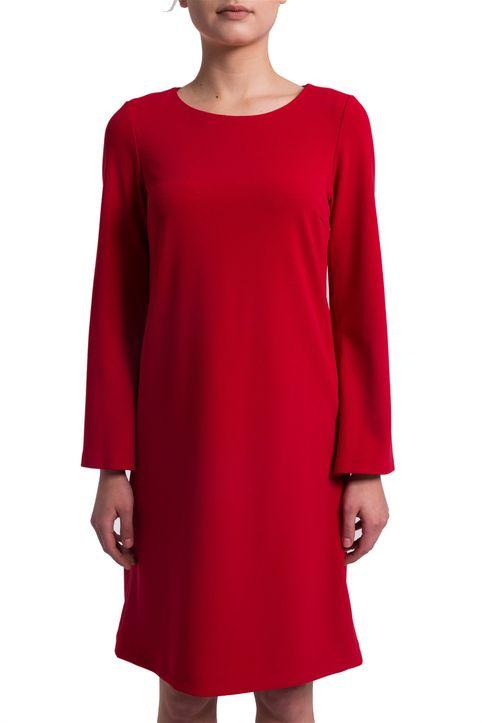 Γυναικείο φόρεμα με μανίκι καμπάνα Esprit - 028EO1E009 - Κόκκινο