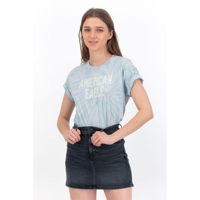 AE Vintage Washed Graphic T-Shirt - 1305-9930-400 - Ανοιχτό Γαλάζιο