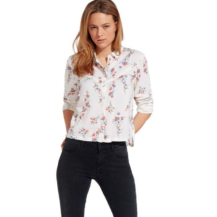 Wrangler γυναικείο floral πουκάμισο