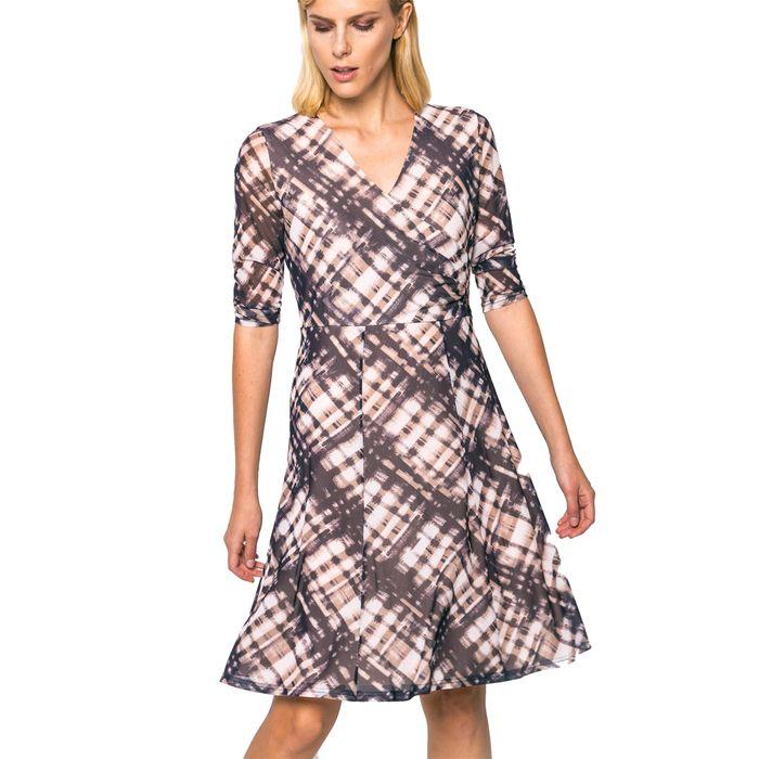Γυναικείο φόρεμα Gerry Weber - 680905-35022 - Μπεζ