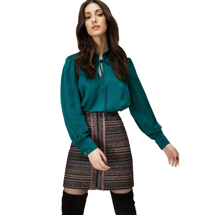 Billy Sabbado γυναικεία μπλούζα με μανσέτες στα μανίκια - 102281876 - Κυπαρισσί