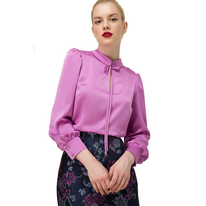 Billy Sabbado γυναικεία μπλούζα με μανσέτες στα μανίκια - 102281876 - Φούξια