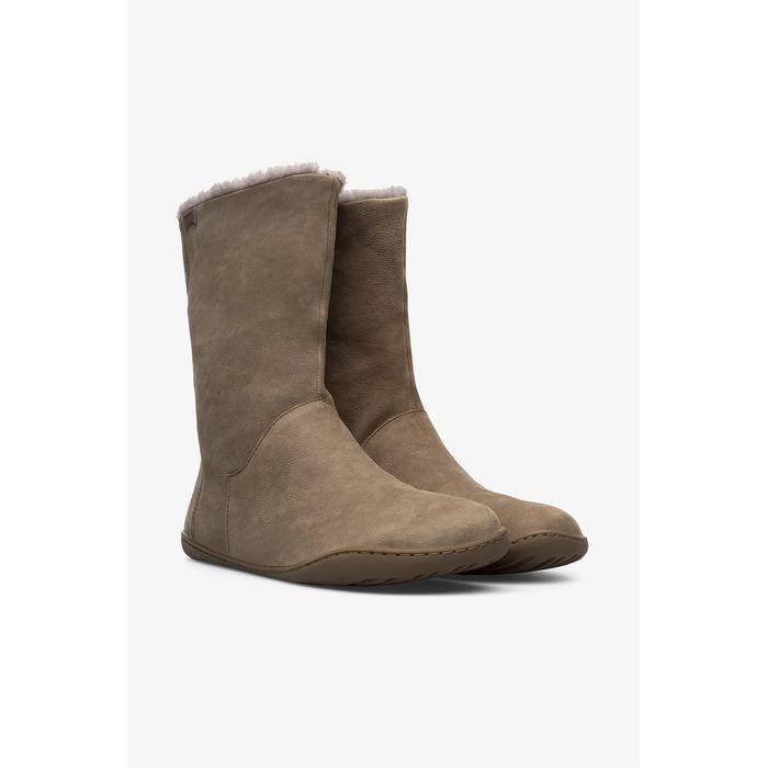 Camper γυναικείες μπότες με γούνινη επένδυση
