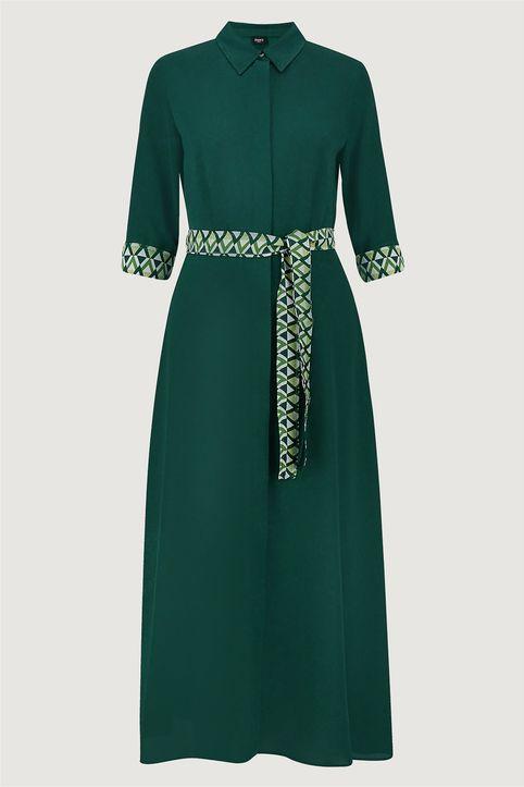 Emme by Marella γυναικείο σατέν φόρεμα σεμιζιέ