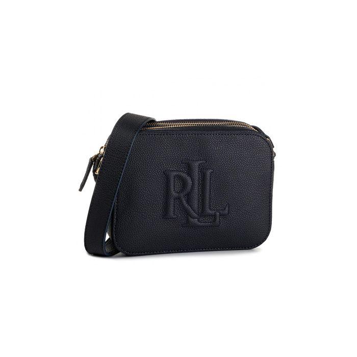 Lauren Ralph Lauren γυναικεία δερμάτινη croco τσάντα crossbody