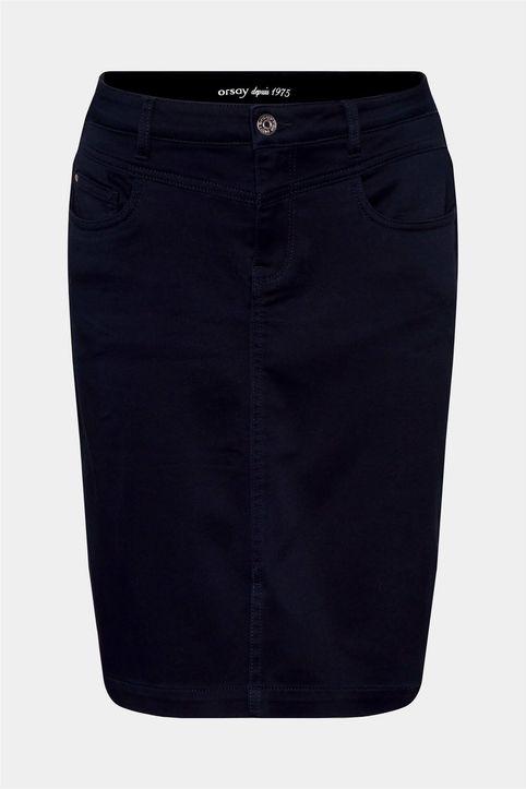 Orsay γυναικεία φούστα pencil μονόχρωμη - 710256-526000 - Μπλε Σκούρο