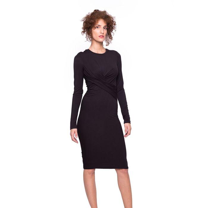 Γυναικείο φόρεμα Kendall & Kylie - KCFA17144DK - Μαύρο