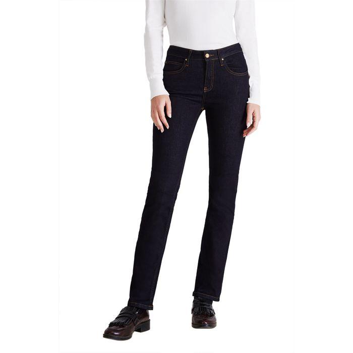 Sarah Lawrence Jeans γυναικείο τζην παντελόνι ψηλόμεσο - 2-150000 - Μπλε Σκούρο