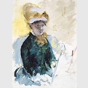 Mary Cassatt, Self-portrait