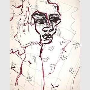 Louise Nevelson, Self-portrait