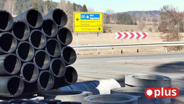 Ausbau der Staatsstraße 2159 zwischen Gaisthal und Schönsee startet in die heiße Phase