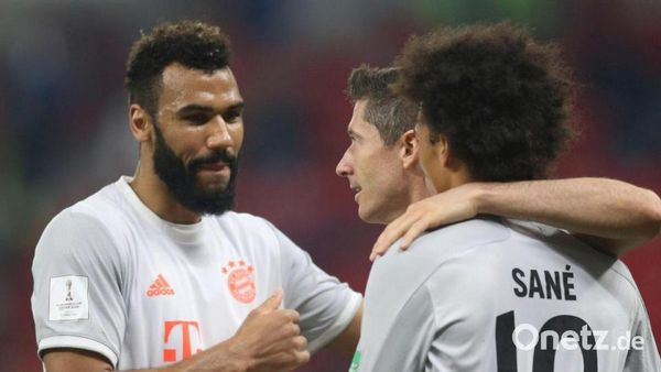 FC Bayern bejubelt 5:1-Sieg gegen Köln