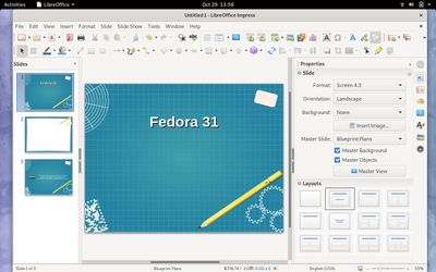 14 LibreOffice Impress