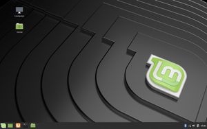 02 Linux Mint Cinnamon Desktop