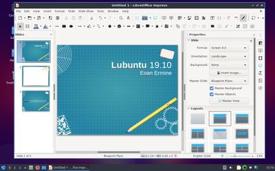 12 LibreOffice Impress
