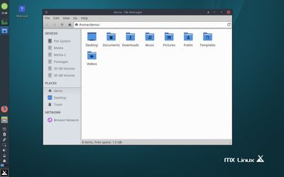 03 Thunar File Manager