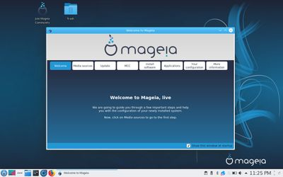 02 Mageia Welcome