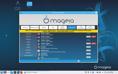 03 Mageia Welcome - Applications