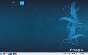 05 Mageia Desktop - First impression