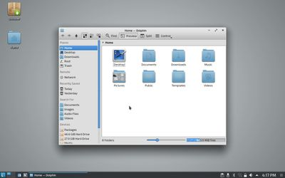 05 Dolphin File Manager