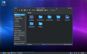 04 Dolphin File Manager
