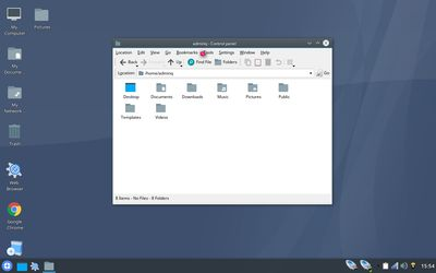 09 File Manager with Konqueror