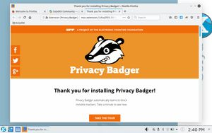11 Privacy Badger plugin enabled by default