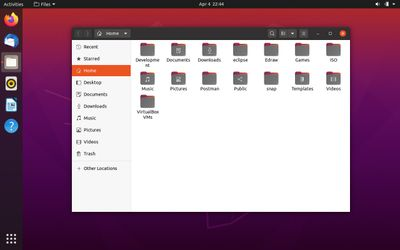 04 Nautilus File Manager