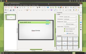 21 LibreOffice Impress