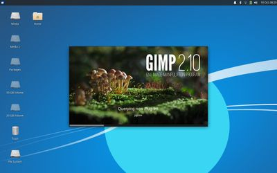 10 GIMP Splash Screen