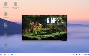 11 GIMP Splash screen