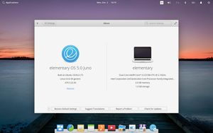 02 About elementary OS