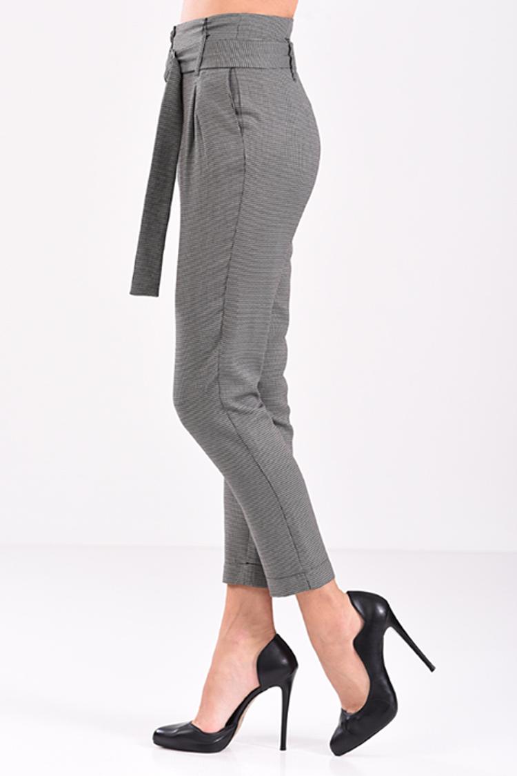 Ψηλόμεσο καρό παντελόνι!