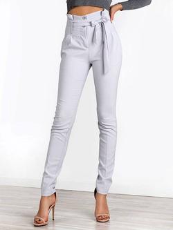 Ψηλόμεσο παντελόνι με ζώνη!