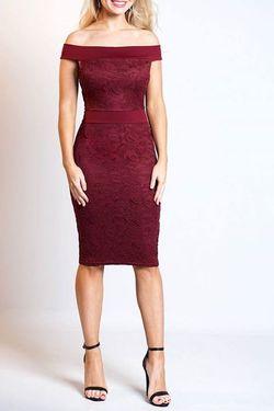 Midi bardot φόρεμα!