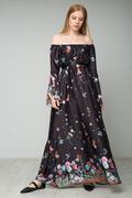Bardot maxi φόρεμα!