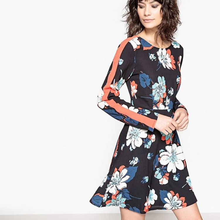 Floral mini φόρεμα!