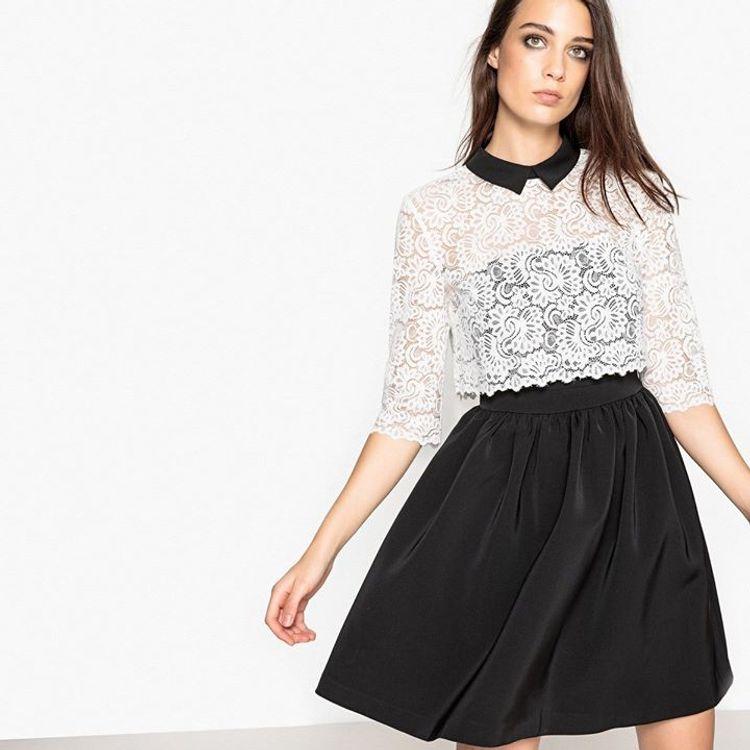 Mini φόρεμα με δαντέλα!