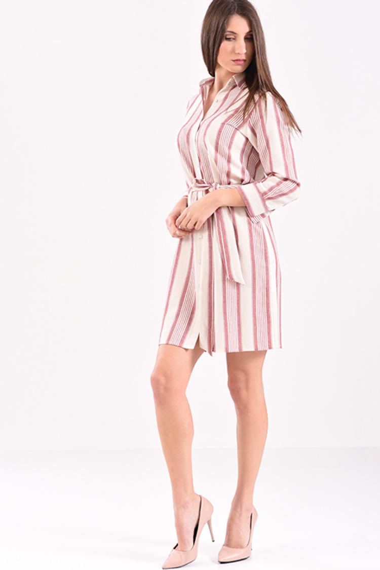 Mini shirt dress!