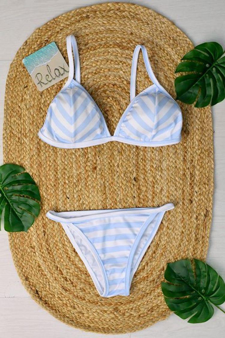 Ριγέ bikini σε εκπληκτική τιμή!