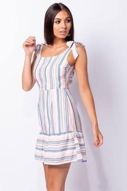 Ριγέ mini φόρεμα!